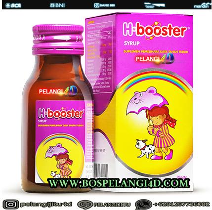 Mengenal H-Booster, Suplemen Penunjang Daya Tahan Tubuh Anak