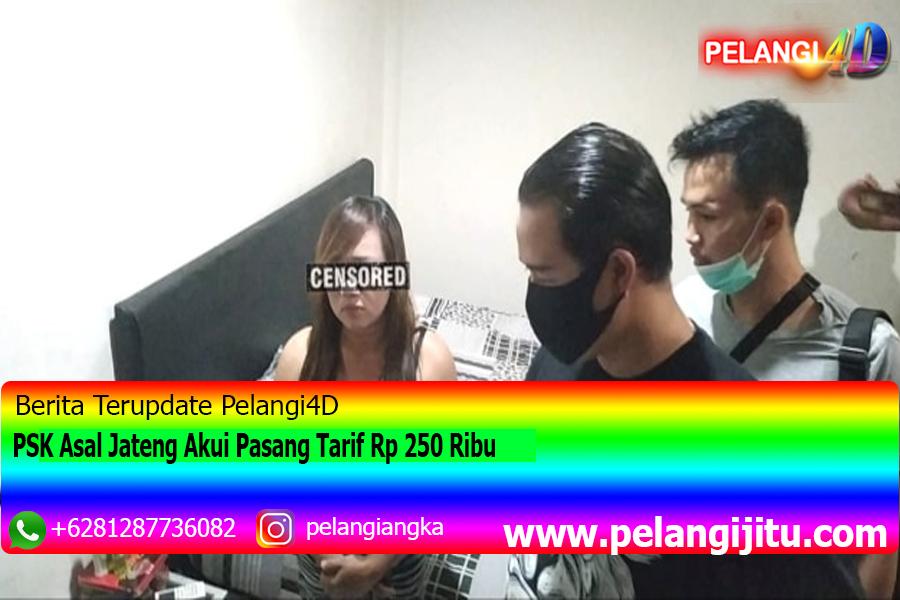 PSK Asal Jateng Akui Pasang Tarif Rp 250 Ribu