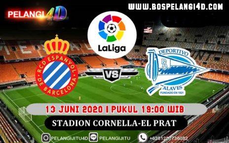 Prediksi Espanyol Vs Alaves 13 Juni 2020