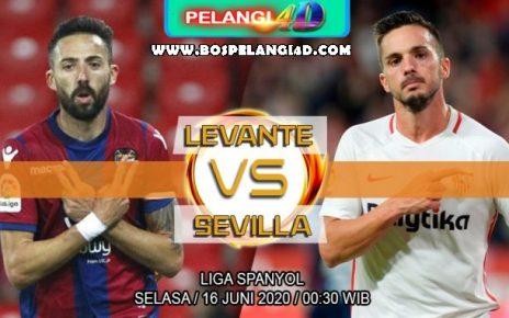 Prediksi Levante Vs Sevilla 16 Juni 2020