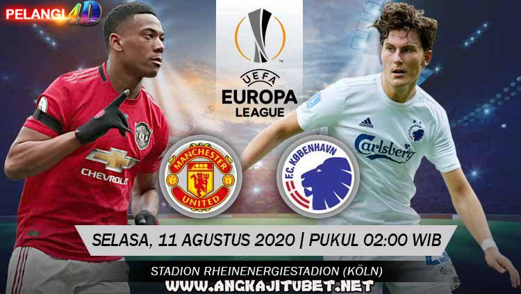 Prediksi Manchester United Vs FC Copenhagen 11 Agustus 2020