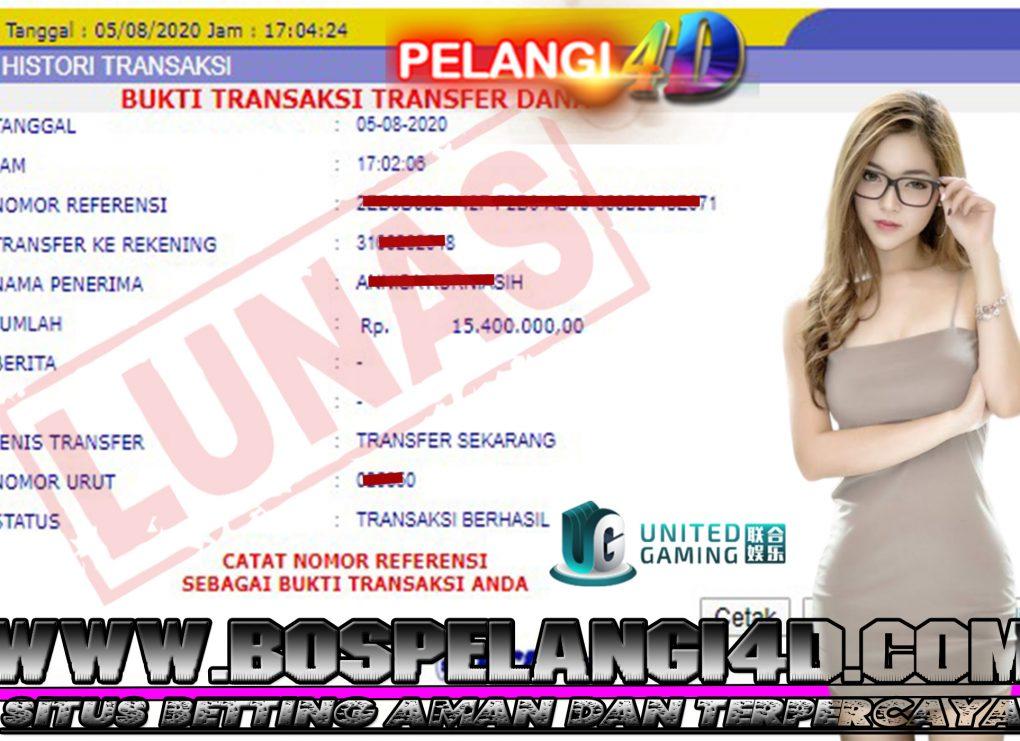 Member Pelangi4d Jackpot SPORTBOOK Pelangi4D 05 AGUSTUS 2020