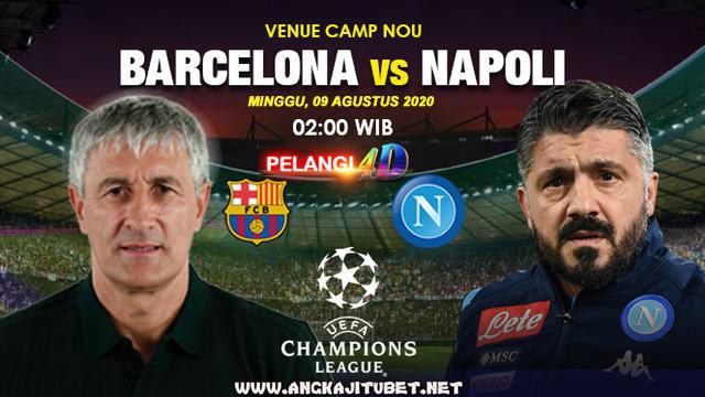 Prediksi Pertandingan Barcelona Vs Napoli