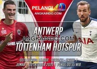 Prediksi Bola Royal Antwerp vs Tottenham 30 Oktober 2020