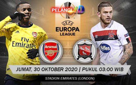 Prediksi Bola Arsenal vs Dundalk 30 Oktober 2020