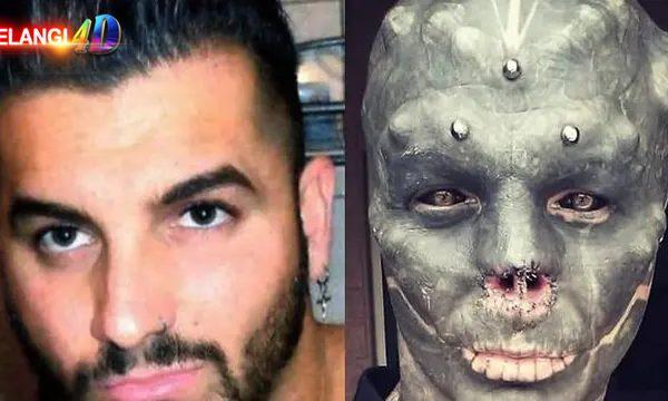 Modifikasi Tubuh, Pria Ini Ubah Wajahnya