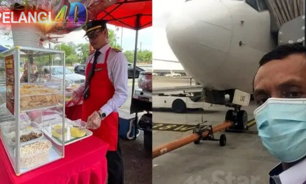 Mantan Pilot Senior Kena PHK , Dan Kini Jual Rujak