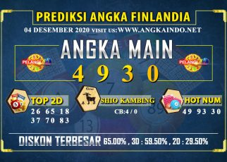 PREDIKSI TOGEL FINLANDIA LOTTERY 04 DESEMBER 2020