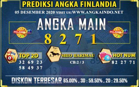 PREDIKSI TOGEL FINLANDIA LOTTERY 05 DESEMBER 2020