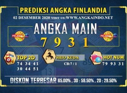 PREDIKSI TOGEL FINLANDIA LOTTERY 02 DESEMBER 2020