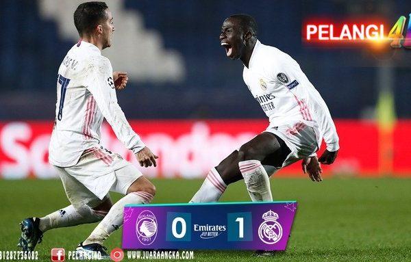 Tanpa Ramos & Benzema Real Madrid Harus Kerja Keras Kalahkan 10 Pemain Atalanta