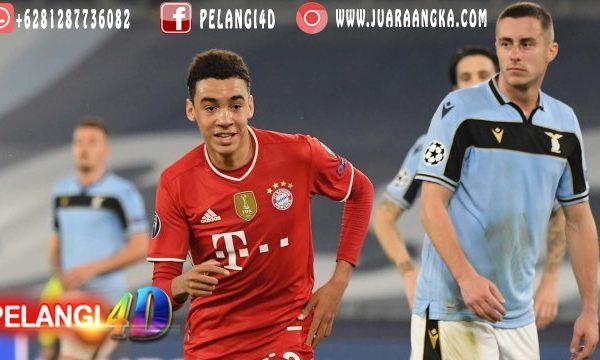 Wonder Kid Muda Bayern : Jamal Musiala Cetak Rekor Di Liga Champions