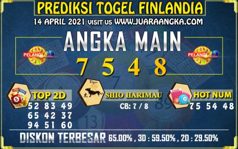 PREDIKSI TOGEL FINLANDIA LOTTERY 14 APRIL 2021