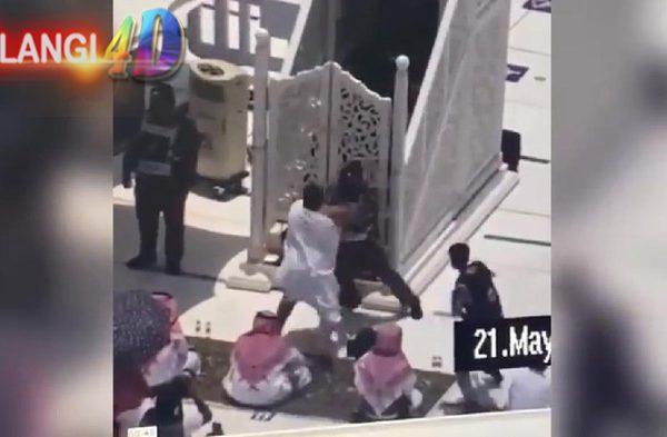 Petugas Tangkap Penyerang Khatib Masjidil Haram