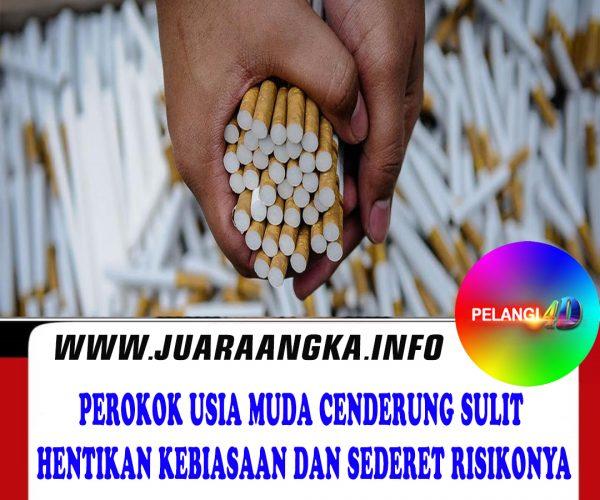 Perokok Usia Muda Cenderung Sulit Hentikan