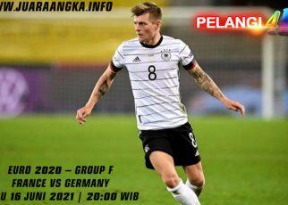 Prediksi Pertandingan Prancis vs Jerman 16 Juni 2021