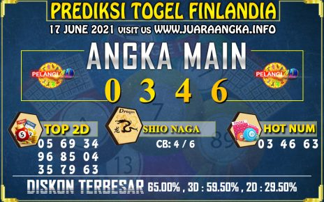 PREDIKSI TOGEL FINLANDIA LOTTERY 17 Juni 2021