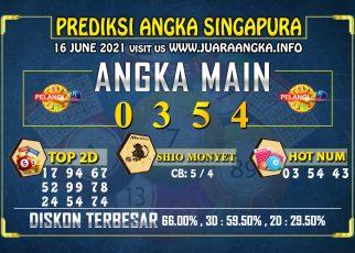 PREDIKSI TOGEL SINGAPORE POOLS 16 Juni 2021